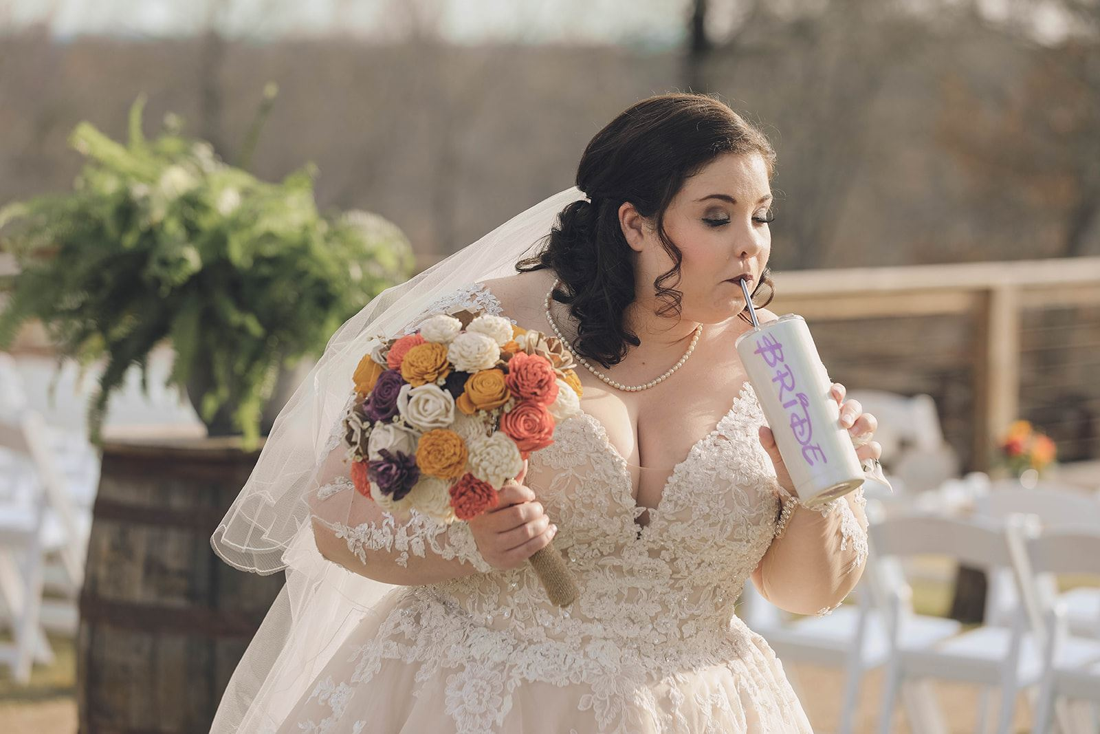 Disney Bride, plus size bride, Essense of Australia