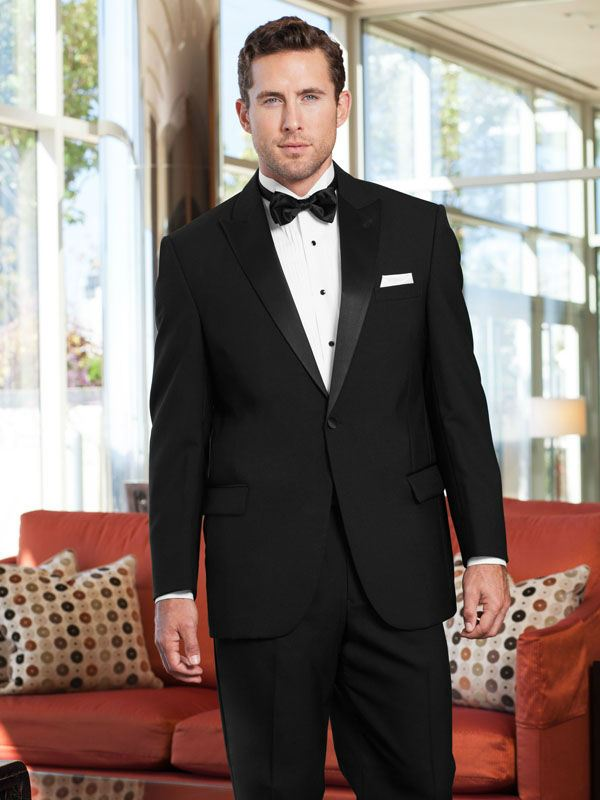 Jim's Formal Wear Classic Peak Tuxedo