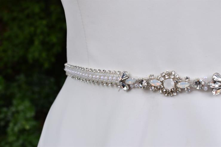 Bel Fiore Bridal Collection Honey Belt