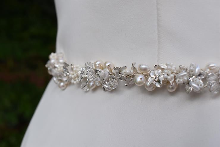 Bel Fiore Bridal Collection Demeter Belt