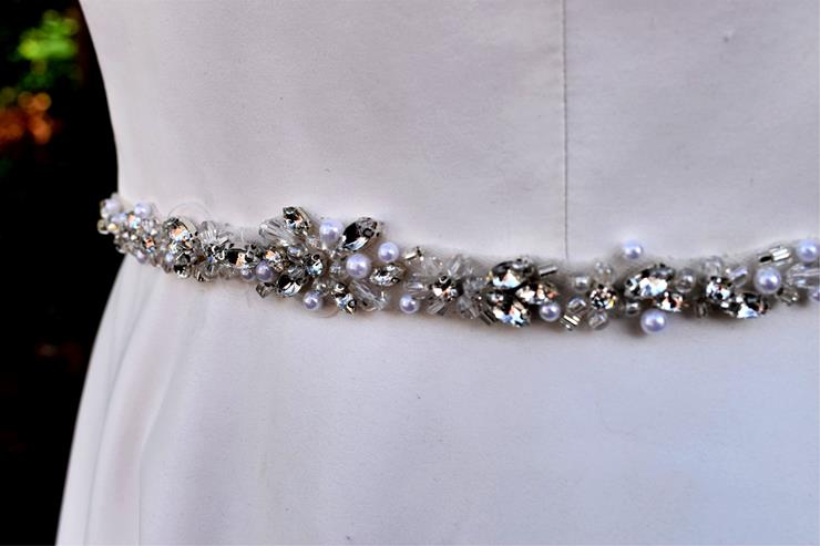 Bel Fiore Bridal Collection Cassandra Belt