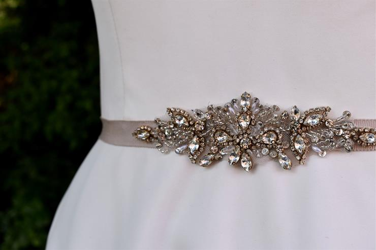 Bel Fiore Bridal Collection Goldie Belt