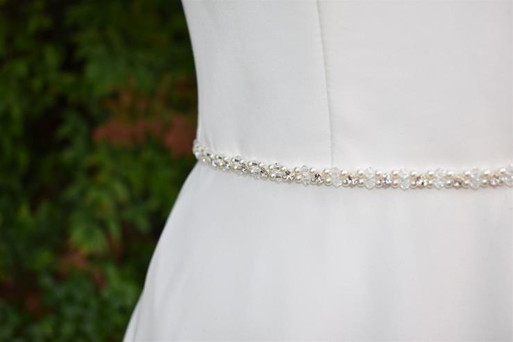 Bel Fiore Bridal Collection Delphine Belt