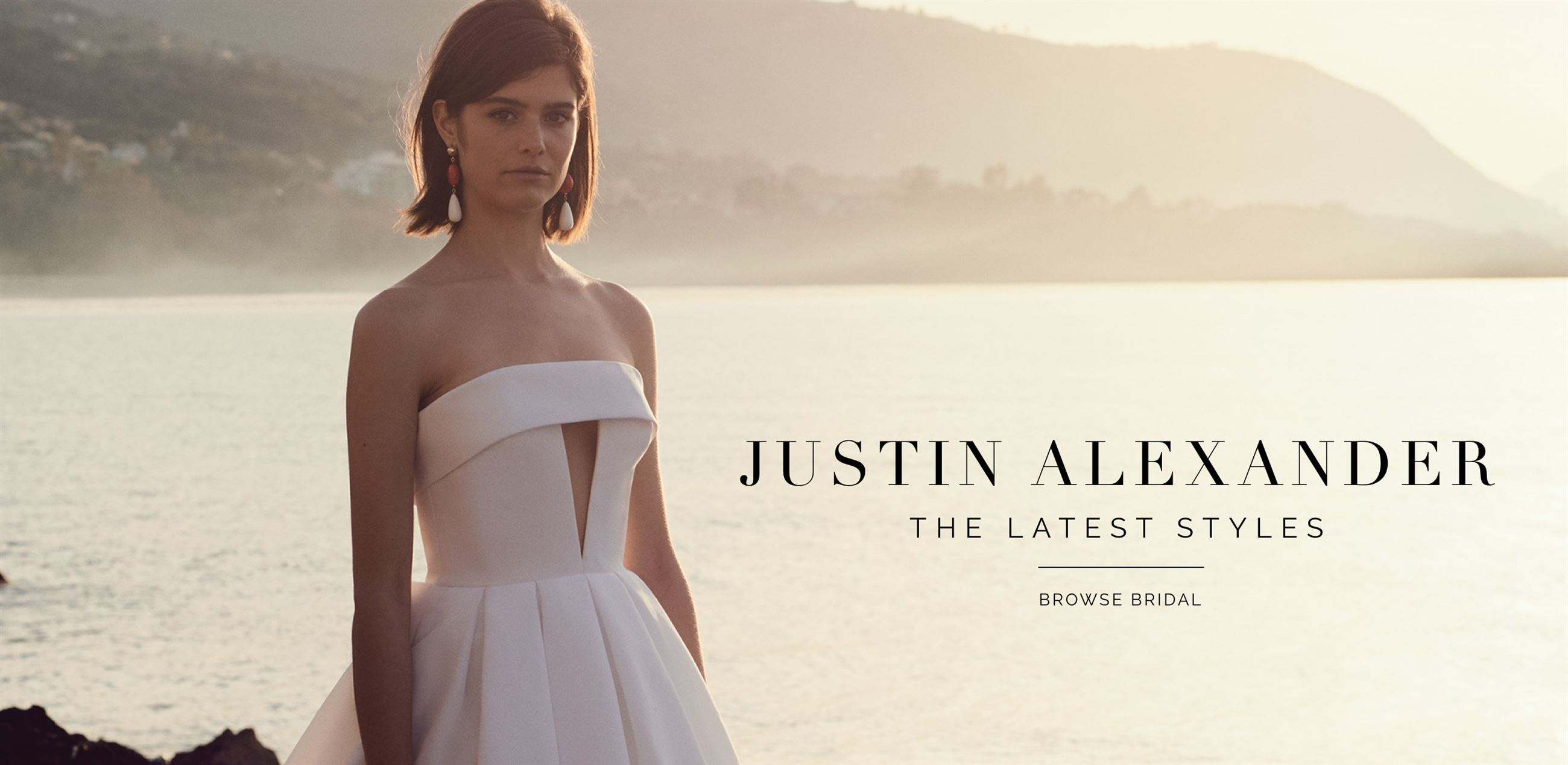 Banner for Justin Alexander latest styles